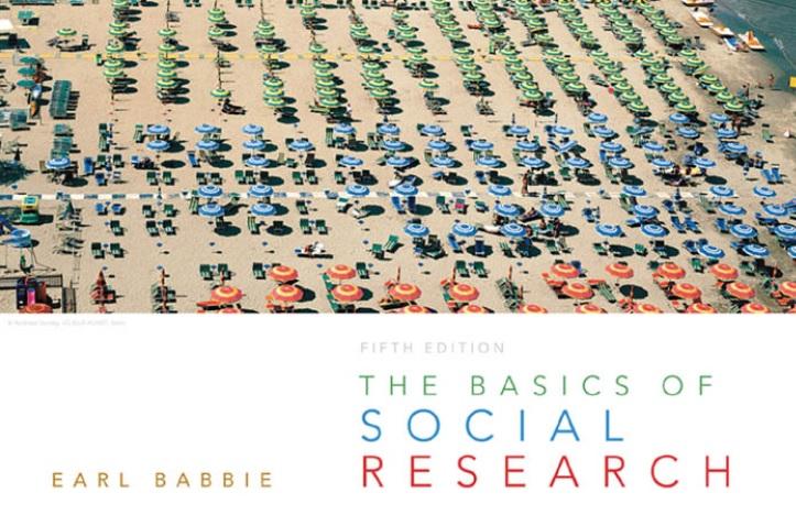 Basics of social research book cover screenshot
