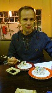 Едим суши, в ПН скидки