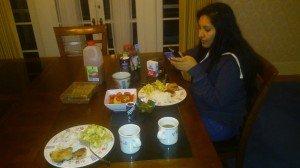 Рождественский ужин 2015