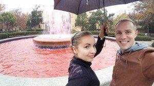 С Аней в Пало-Альто
