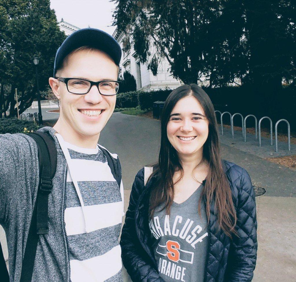 СФ 6 в Беркли с Натали