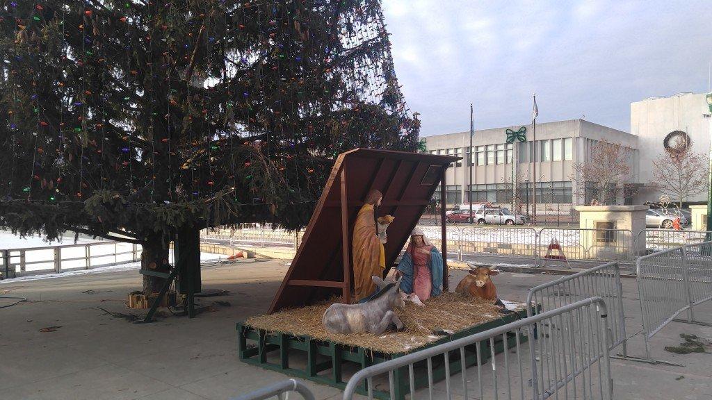 В центре Сиракуз перед Рождеством 4